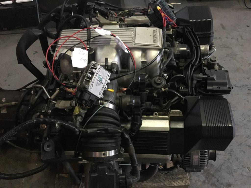 Toyota 1UZ 4.0L Non VVTI Engine Complete + Gearbox, wired to start Image