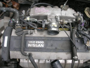 Nissan RB25 2.5L Straight 6 Turbo Skyline Engine Complete Image