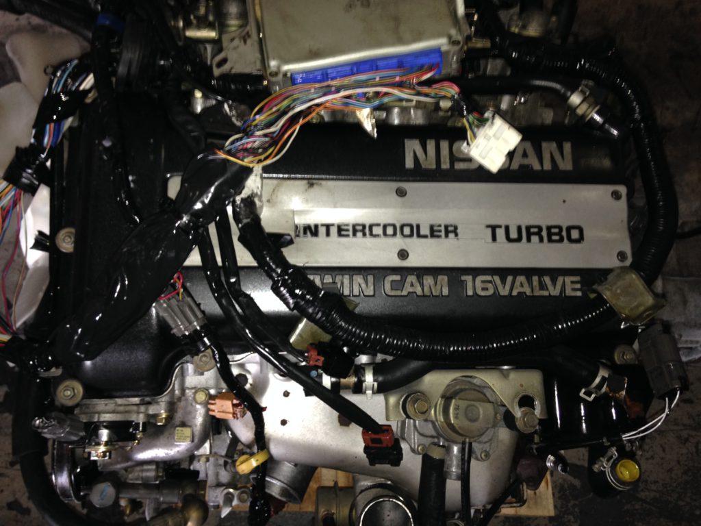 Nissan SR20-T 2.0L Turbo Engine Complete Image