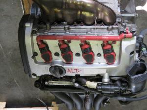 Audi ALT 2.0L A4 Non Turbo Engine Complete Image