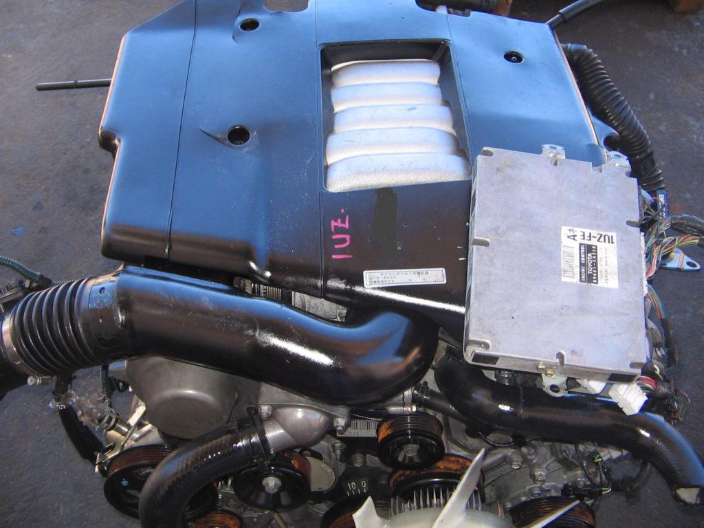 Lexus 1UZ 4.0L VVTI Engine Complete + Gearbox, wired to start Image